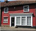 TM1473 : Terraced cottage in Cross Street, Eye by Evelyn Simak
