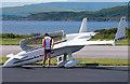 NM9035 : G-KENZ at Oban Airport by The Carlisle Kid