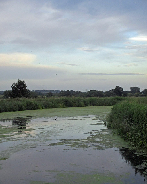 Bassingfield: a bend in the Grantham Canal