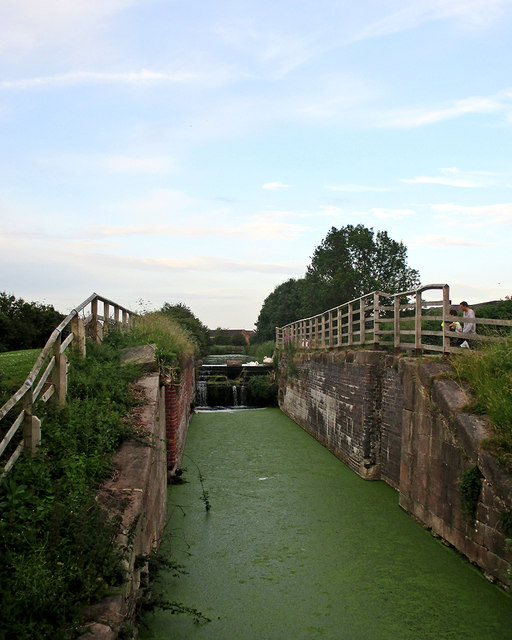 Third lock from the Trent