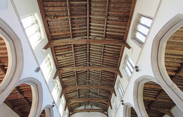 St Mary & St Clement, Clavering - Roof