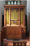 TL4731 : St Mary & St Clement, Clavering - Organ by John Salmon
