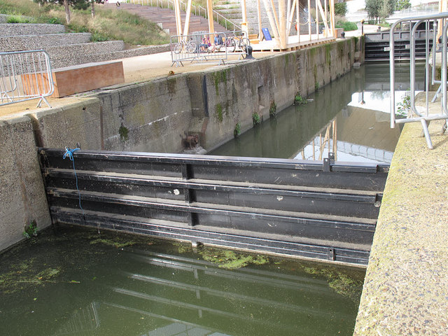 Carpenters Road Lock within the Olympic Park
