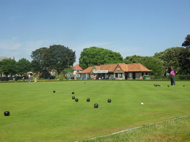 Bowling Green at Lowestoft by Stuart Shepherd