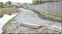 J3674 : Connswater path, Mersey Street, Belfast - July 2015(3) by Albert Bridge