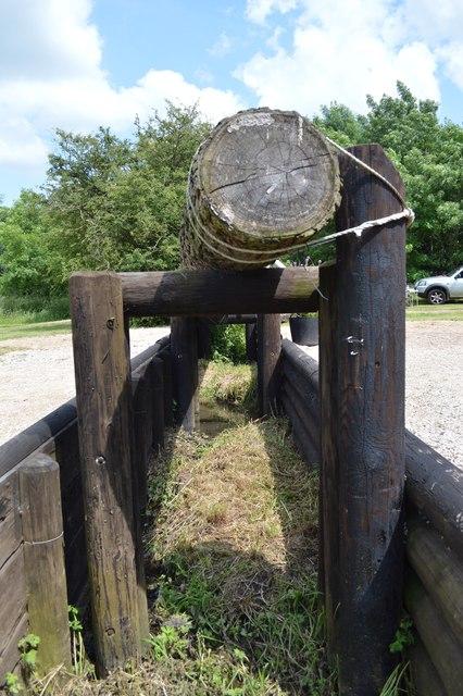 Eland Lodge Horse Trials: trakehner (detail)