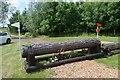 SK1426 : Eland Lodge Horse Trials: Hanging Log by Jonathan Hutchins