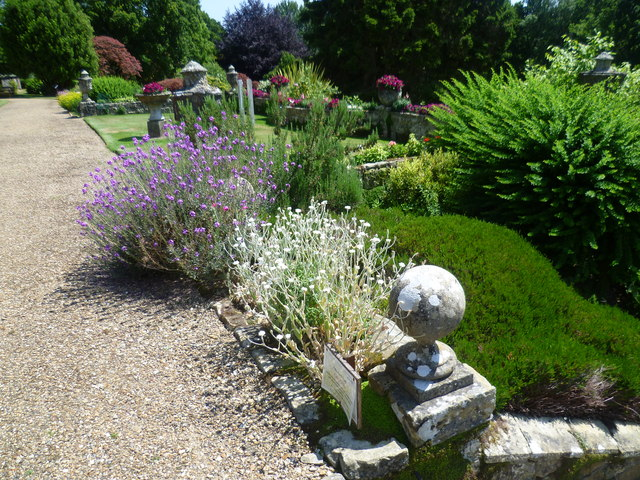 The gardens of Burrswood Hospital