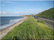 NZ8612 : Yorkshire Coast - between Sandsend and Whitby by Nigel Thompson