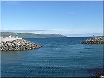 D3115 : Glenarm harbour entrance by Michael Dibb