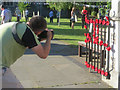 SP9211 : Everyone seemed to be taking pictures of the Tring Yarn Bombing by Chris Reynolds