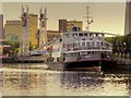 SJ8097 : MV Royal Iris of the Mersey at Salford Quays by David Dixon