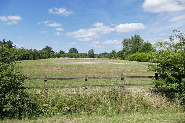 Wexham Park helipad