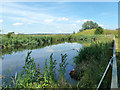 TQ6186 : Sewage works lagoon by Robin Webster