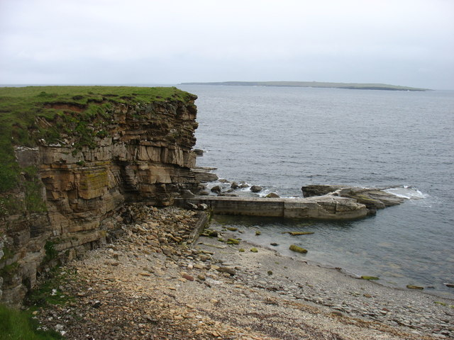 Old harbour at St John's Point