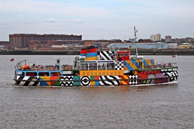 MV Snowdrop, River Mersey