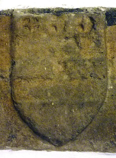 The Washington coat of arms, St Oswald's Church, Warton