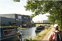 TQ3784 : View of London Tradition from the River Lea Navigation by Robert Lamb