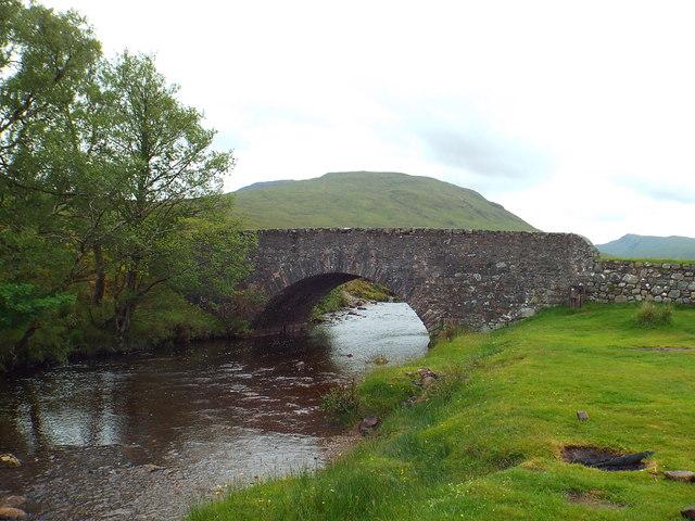 Bridge over Allt Tolaghan, near Bridge of Orchy