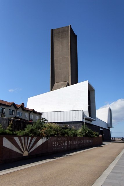 Kingsway road tunnel ventilation tower, Seacombe