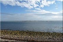 NU1341 : Across the harbour by DS Pugh