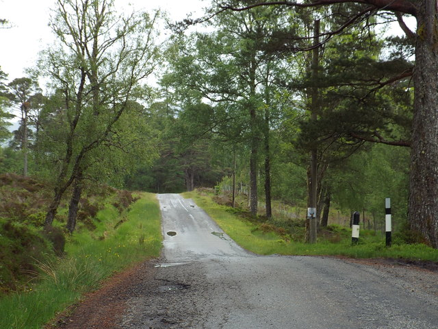 Minor lane near Bridge of Orchy