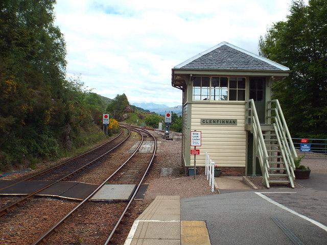 Glenfinnan signalbox