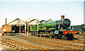 SU5291 : No. 7808 'Cookham Manor' preserved at Didcot Railway Centre, 2001 by Ben Brooksbank