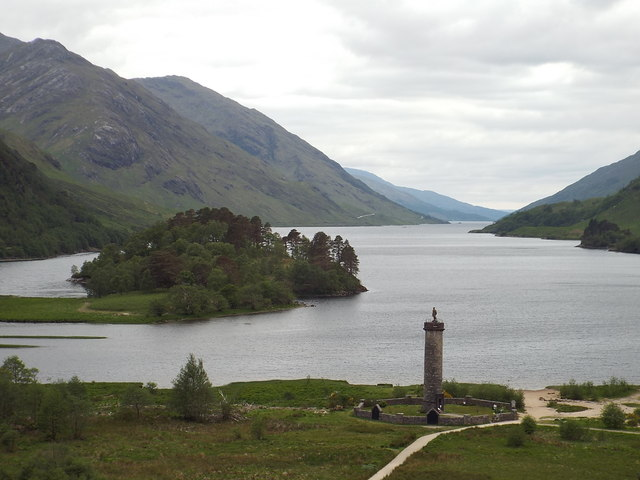 Glenfinnan Monument and Loch Shiel