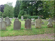 ST9383 : Holy Rood, Rodbourne: churchyard (c) by Basher Eyre