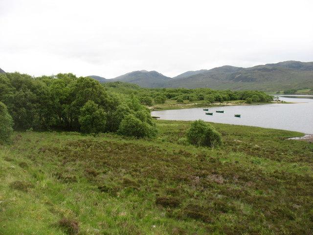 Small bay on Loch Hope