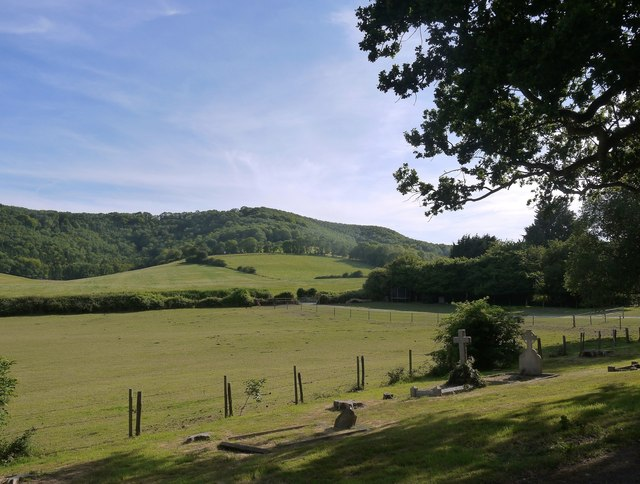 View from Bepton churchyard