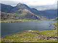 NG4920 : Loch Coruisk and the mouth of Allt a' Choire Riabhaich by Oliver Dixon
