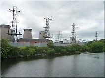 SE4824 : Pylons at Ferrybridge A power station by Christine Johnstone