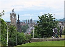 NT2674 : Princes Street from Calton Hill by Jim Barton