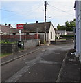 SN3610 : Caution Children Playing sign, Water Street, Ferryside by Jaggery
