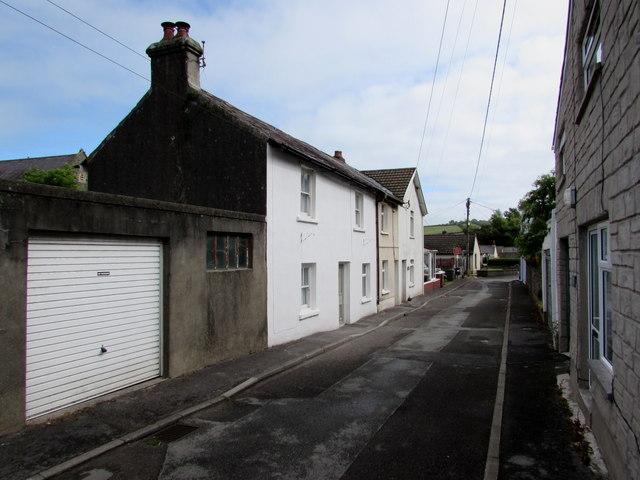 White side of Water Street, Ferryside