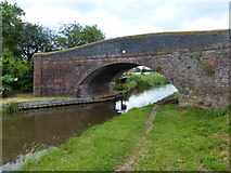 SK0220 : Taft Bridge No 69 on the Trent & Mersey Canal by Mat Fascione