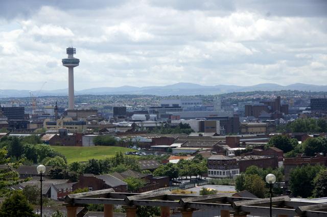 Radio City Tower from Everton Brow