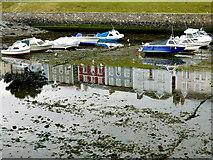SN4562 : Aberaeron Harbour by Nigel Mykura