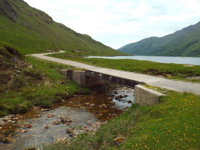 Bridge over Allt Coire Ghiubhsachain, near Glenfinnan