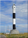 TR0916 : Dungeness 'new' lighthouse by Chris Allen