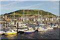SN5881 : Aberystwyth Marina by Richard Croft