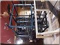 TQ9220 : Rye: internal mechanism of the church clock by Chris Downer