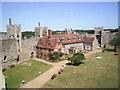 TM2863 : Inside Framlingham Castle by Des Blenkinsopp