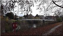 SO5139 : Victoria Bridge, Hereford by John Welford