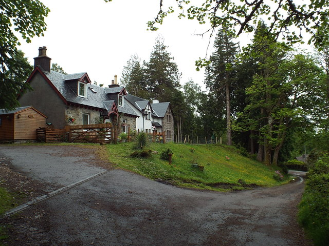 Cottages at Glenfinnan