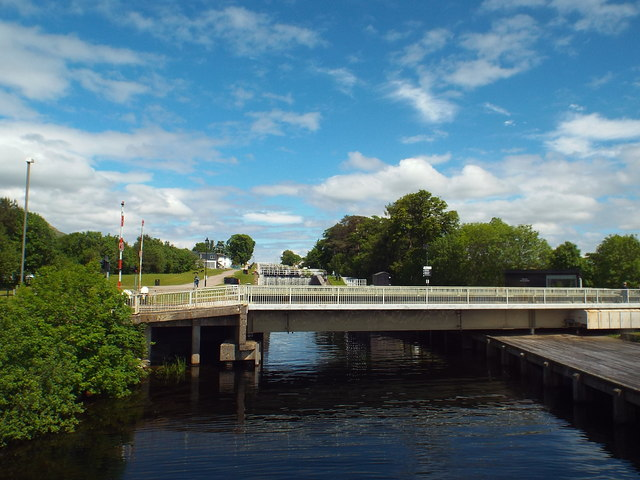 Caledonian Canal at Banavie, near Fort William