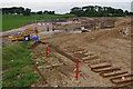 SD4864 : Green Lane Bridge under construction by Ian Taylor