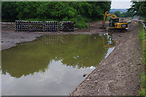 SD4863 : Lancaster Canal repairs by Ian Taylor